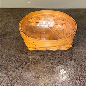 Longaberger 2001 Small Catch All Basket